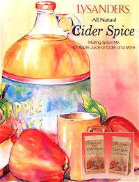 Lysander Cider  Spice